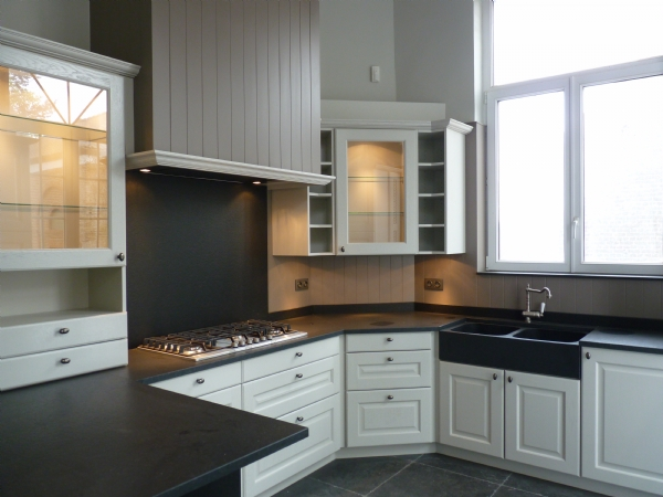 Keuken Landelijke Stijl : Keukens in cottage landelijke stijl